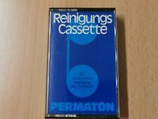 Reinigungskassette Kassette Permaton MC Vintage Rarität