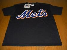 NEW WT MLB NEW YORK MET'S BLACK 100% COTTON T-SHIRT YOUTH BOYS L 12 MAJESTIC
