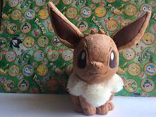 """Pokemon Plush 12"""" I Love Eevee 2012 DX Doll soft Stuffed animal figure US Seller"""