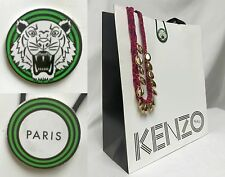 KENZO PARIS Paper Gift Shopping Hand Bag ~ 10x11.75x4.5 Dress Skirt Shirt Jacket