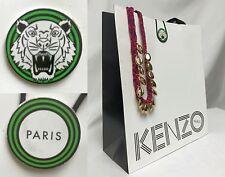 KENZO PARIS Paper Gift Shopping Hand Bag ~ 10x11.75x4.5 Dress Skirt Shirt Jacket