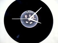 "QUEEN Jazz  12"" Vinyl lp Wall Clock"