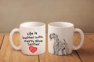 Kerry Blue Terrier - Keramik Becher DE