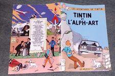 TINTIN ET L'ALPH - ART  30X20 TBE RODIER LES ARUMBAYAS