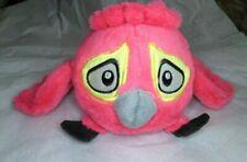 """Rio 5"""" Pink Caged Angry Bird With Sound 2012 Rovio"""