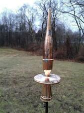 """36"""" Copper Finial spire for roof + yard- Weathervane alternative- Free Shipping"""