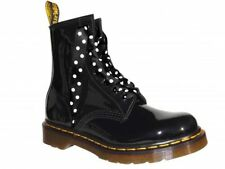 b4d81e559eda NEW Satin Ribbon Laces Bootlaces with our LOGO Aglets Fits Ankle DOC Boot  Shoes