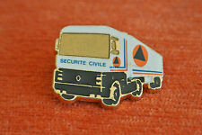 13556 PIN'S PINS SECURITE CIVILE CAMION TRUCK RENAULT RARE