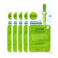 Mediheal Teatree Healing Solution Essential Mask Pack Sheets 10pcs + Gift