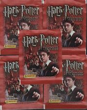 Italy Panini Harry Potter and the Prisoner of Azkaban Sticker Pack x5