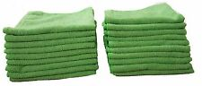 Green Microfibre Exel Cloths 50 Pack, Cleaning Cloth for Home, Cars and Work