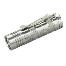 EagleTac D25C Clicky Titanium 453 Lumens EDC LED Flashlight - Cree XM-L2 U2