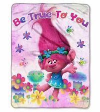 """Trolls Poppy Be True To You Throw Blanket - 46"""" x 60"""""""