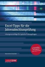 Excel-Tipps für die Jahresabschlussprüfung von Maximilian Schoichet (2017, Kunststoffeinband)
