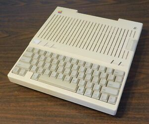 Vintage Apple IIc Computer - A2S4000 & Power Supply - Tested Works - 825-0819-A