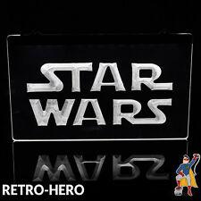 Star Wars Lampe LED Leuchtreklame Merchandising Neon Film Reklame Werbeschild