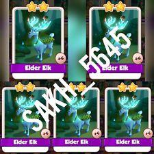 5 x Elder Elk :- Coin Master Cards ( Fastest Delivery )