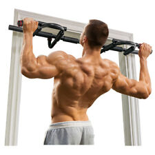OneTwoFit Chin Pull Up Bar Multi-Grip Bar Heavy Duty Doorway Trainer Gym OT005