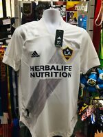 Adidas LA Galaxy Home Jersey 2020 White Grey Authentic Jersey Size M Men's Only