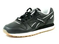 Reebok Mens Shoes GL6500 LTHR SE 1-140645 Classic Black Sneakers Dead Stock Rare