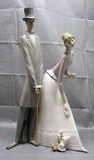 Lladro #4563 - Couple Group - Figurine - Retired 1985 - Mint