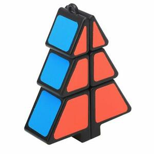 Christmas Tree Cube Ultra-smooth Brain Teaser Twist Puzzle Christmas Gift Black