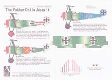 Flying Colors Aero 1//48 Swedish Army Air Force Fokker D.VIIIF No 937 # 48106