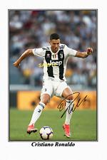 4x6 SIGNED AUTOGRAPH PHOTO REPRINT of CRISTIANO RONALDO JUVENTUS FC #TP