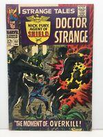 Strange Tales #151 Silver Age Comic Books Marvel 1966 Nice Copy! VF- to VF+