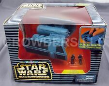 Micro Machines Star Wars TIE BOMBER w/ Imperial Pilot & Naval Trooper Galoob NIB