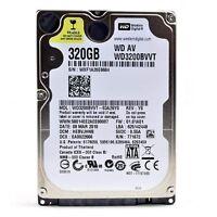"WD 320GB 2.5"" Laptop Hard Drive  SATA II 5400RPM"