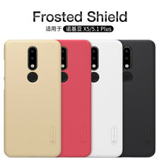 100%NILLKIN Frosted Shield Hard Back Case Cover For Nokia 8.1 5.1 X6 7 Plus