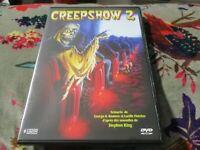"DVD NEUF ""CREEPSHOW 2 d'après Stephen King"" horreur"
