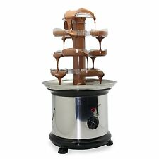 Chocolate Fountain Cascade Fondue Party Sweets Dips Kids Fun Mush Mallow Candy