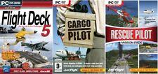 Cubierta de vuelo 5 & cargo piloto y piloto de rescate