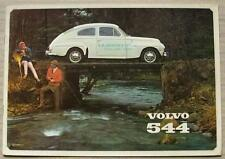 VOLVO 544 USA Car Sales Brochure Dec 1964 #RK 1546/2