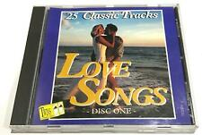 The Love Songs Collection 25 Classic Tracks Disc One