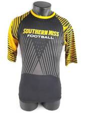 Southern Miss Football Brothers Russell Athletic Mens Shirt Gold (L) Large New