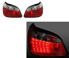 FEUX ARRIERE LED BMW SERIE 5 E60 2003-2007 525IA 530D 530 BLANC ROUGE CRISTAL