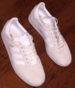 adidas Gazelle Women White BA9596 Size 9