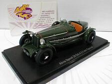 """AutoCult 02004 # Alvis Speed 20 SA 4.3 Litre Baujahr 1933 in """" dunkelgrün """" 1:43"""