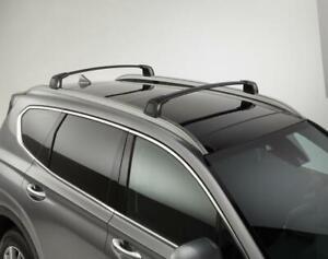 2019-2020 Hyundai Santa Fe Cross Bars (Panoramic Roof) *OEM PARTS* S2F21-AC500