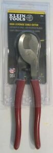 NEW KLEIN 63050 HEAVY DUTY CABLE CUTTER PLIERS SALE USA MADE