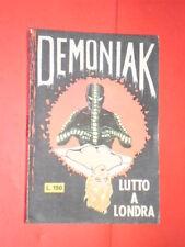 FUMETTO NERO DEMONIAK N° 3 -c-DEL-1965-COFEDIT-TIPO FANTASM o fantax no diabolik