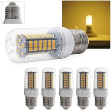 10X E27 Corn Led Light Lamp 3528 SMD Lights Bulb Candle LEDs AC 220V Warm White