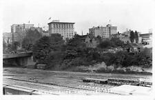 Photo. 1923-4. Vancouver, Canada. CPR's Waterfront train yard byThurlow St