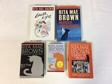 Rita Mae Brown Book Lot Of 5 (Mix)- Good