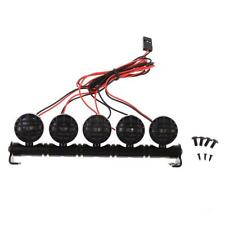 Lampada da tetto a LED luminosa a 5 LED per 1/10 di 1/8 RC HSP Traxxas CC01