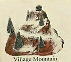 LEMAX  Three (set of 3) Landscape Accents -  Village Mountain #81017