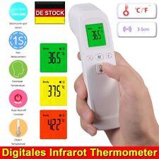 Digital Infrarot Fieberthermometer 2 in 1 Stirn Ohr Thermometer Baby Erwachsene